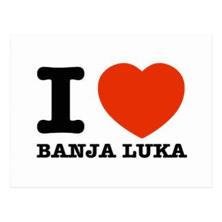 I Love Banja Luka Postcard