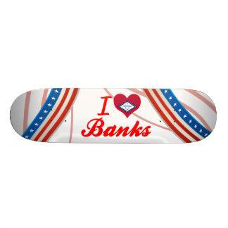 I Love Banks, Arkansas Skate Board Deck