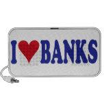 I Love Banks Mp3 Speaker