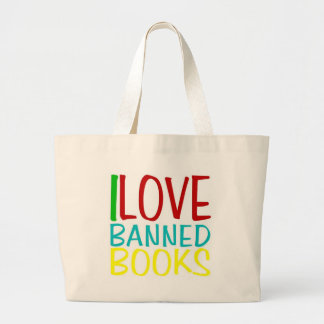 I Love Banned Books Tote