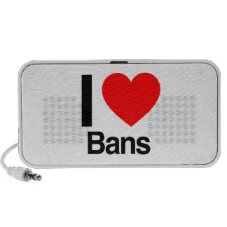 i love bans mp3 speakers