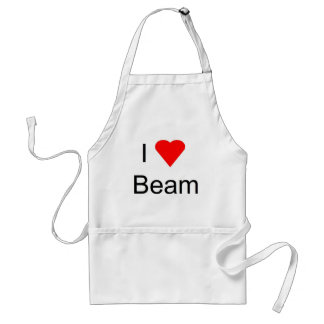I love bar and beam apron