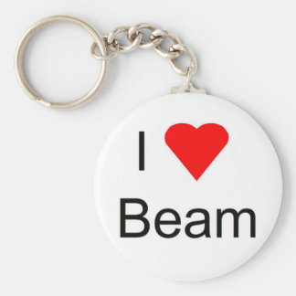 I love bar and beam keychain