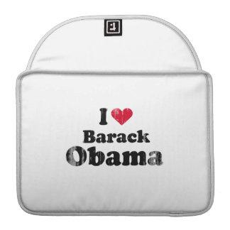 I Love Barack Obama (2) Vintage.png MacBook Pro Sleeves