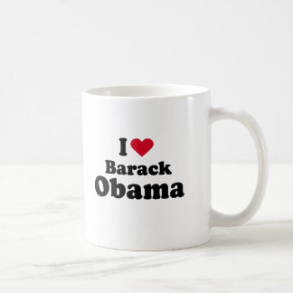 I Love Barack Obama Mugs