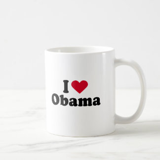 I Love Barack Obama Coffee Mug