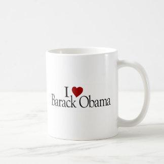 I Love Barack Obama Mugs
