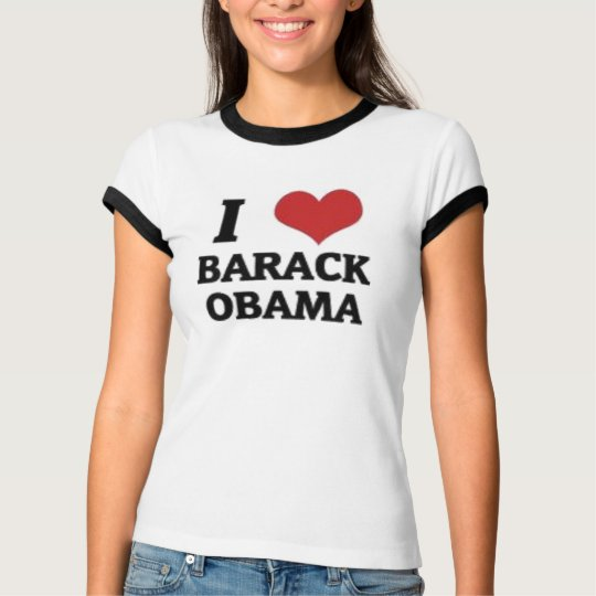 I Love Barack Obama T-Shirt