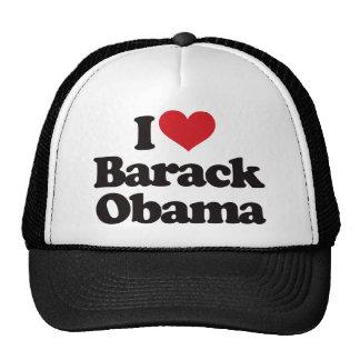 I Love Barack Obama Trucker Hat