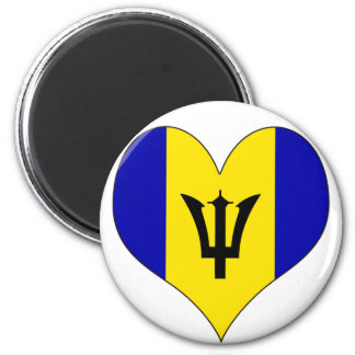 I Love Barbados Magnets