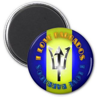 I love Barbados Magnet