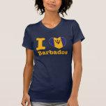 i love barbados t shirts