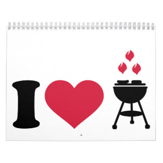 I love barbecue BBQ Calendar