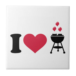 I love barbecue BBQ Tiles