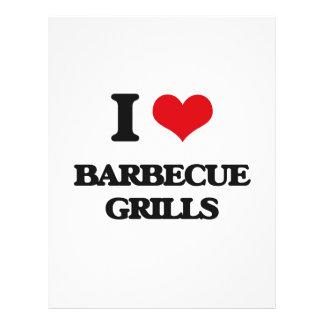 I Love Barbecue Grills Custom Flyer