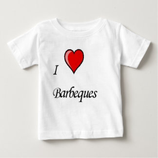 i love barbeques baby T-Shirt
