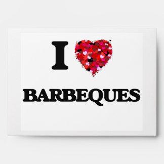 I Love Barbeques Envelope