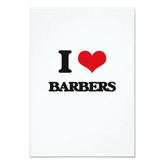 I love Barbers Custom Invite