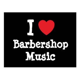 barbershop music cards zazzle. Black Bedroom Furniture Sets. Home Design Ideas