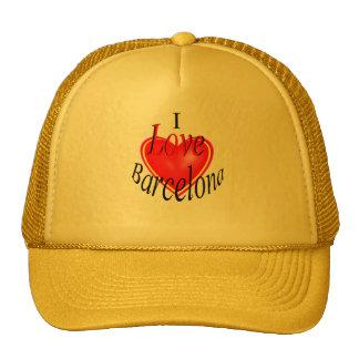 I Love Barcelona Hat