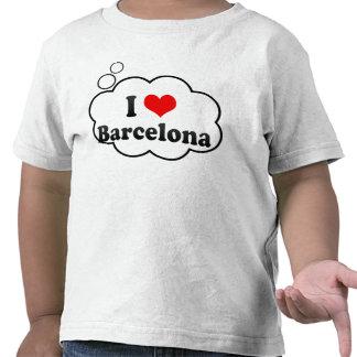 I Love Barcelona, Spain T Shirt