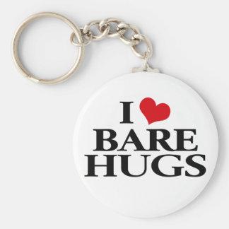 I Love Bare Hugs Key Chains