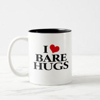 I Love Bare Hugs Two-Tone Coffee Mug