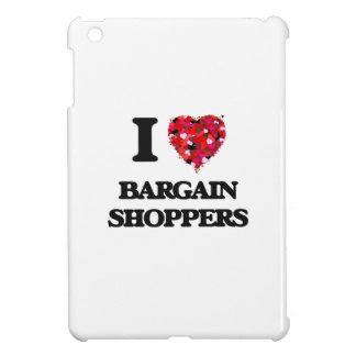 I Love Bargain Shoppers iPad Mini Covers