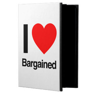 i love bargained iPad air case