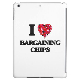 I Love Bargaining Chips iPad Air Covers