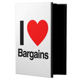 i love bargains iPad air cases