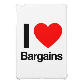 i love bargains iPad mini cover
