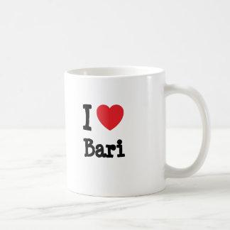 I love Bari heart T-Shirt Mug