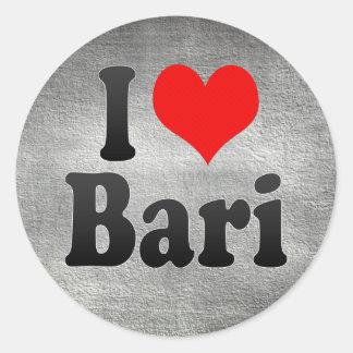 I Love Bari, Italy Stickers