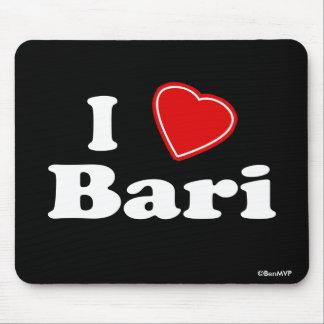 I Love Bari Mouse Pad