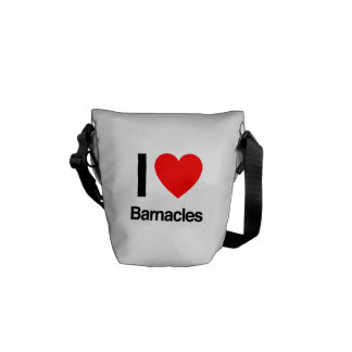 i love barnacles courier bags