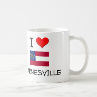I Love BARNESVILLE Georgia Classic White Coffee Mug