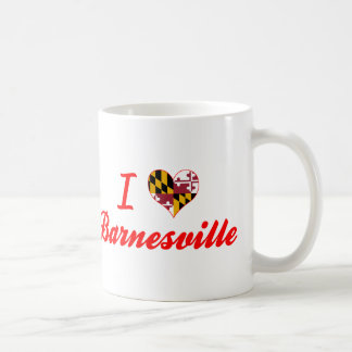 I Love Barnesville, Maryland Classic White Coffee Mug