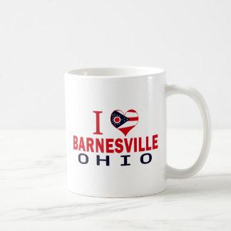 I love Barnesville, Ohio Classic White Coffee Mug