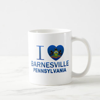 I Love Barnesville, PA Classic White Coffee Mug