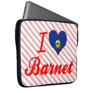 I Love Barnet, Vermont Computer Sleeves