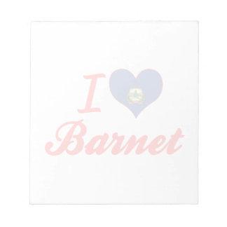 I Love Barnet, Vermont Scratch Pads