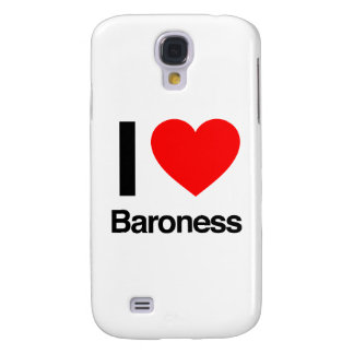 i love baroness galaxy s4 cases