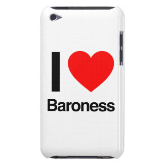 i love baroness barely there iPod cases