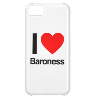 i love baroness iPhone 5C cover