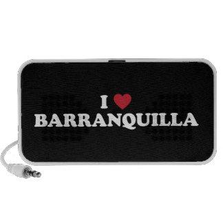 I Love Barranquilla Colombia Speaker