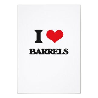 I Love Barrels Card