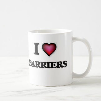 I Love Barriers Coffee Mug