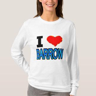 I Love Barrow Alaska T-Shirt
