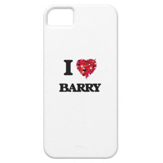 I Love Barry iPhone 5 Covers